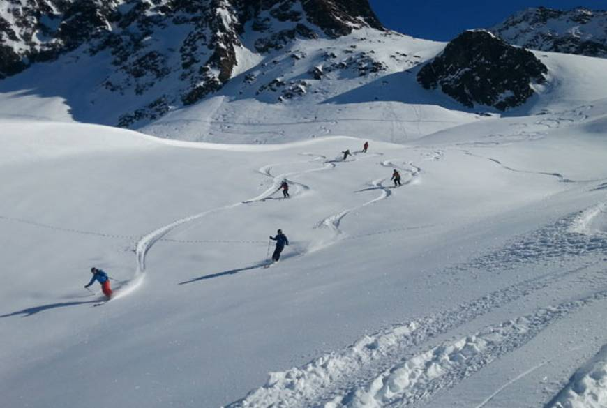Back country Skiing St. Anton  Arlberg